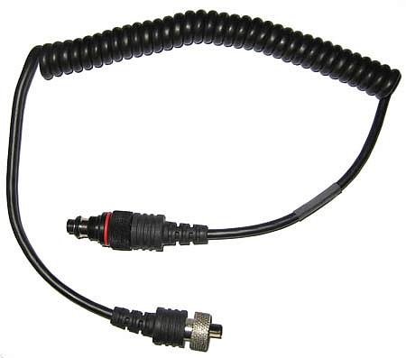 Ikelite przewód synchronizacyjny pojedynczy - obudowa z gniazdem Nikonos / lampa Ikelite