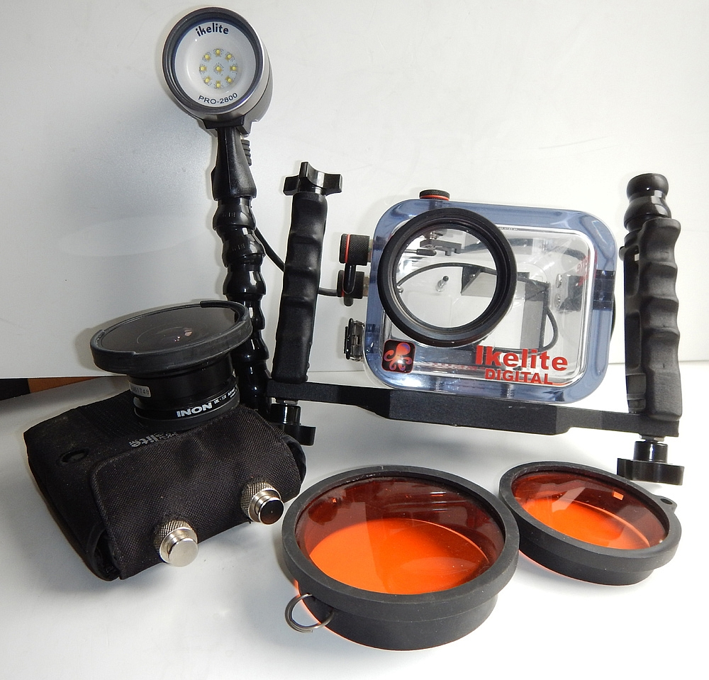 Ikelite Sony XR350 + Ikelite Pro2800 LED + filtry (używane)
